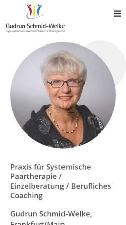 Vorschau der mobilen Webseite www.praxiskrisenberatung.de, Praxis für Systemische Beratung/Coaching/Therapie