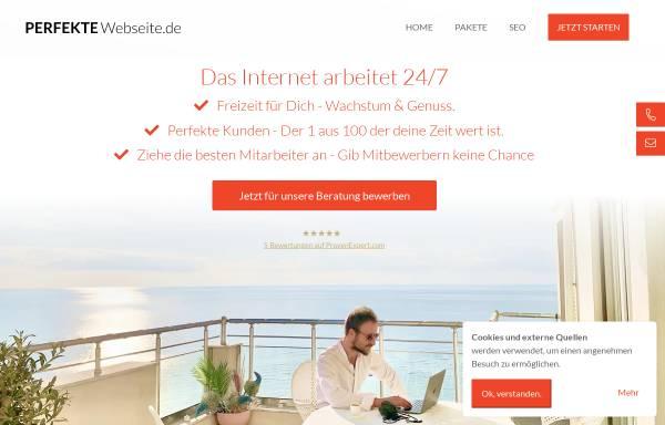 Vorschau von perfekte-webseite.de, Perfekte Webseite