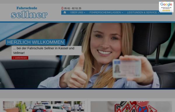 Vorschau von www.fahrschule-sellner.de, Fahrschule Sellner
