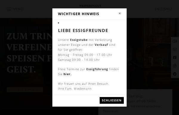 Vorschau von doktorenhof.de, Weinessiggut Doktorenhof GmbH