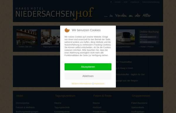 Vorschau von www.niedersachsenhof-verden.de, Hotel Niedersachsenhof