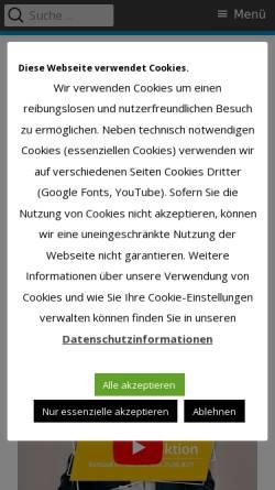 Vorschau der mobilen Webseite fdp-verl.de, FDP Verl