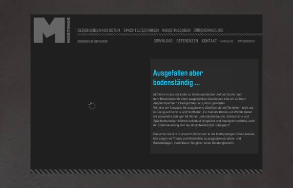 Vorschau von www.mortimor.de, Mortimor GmbH
