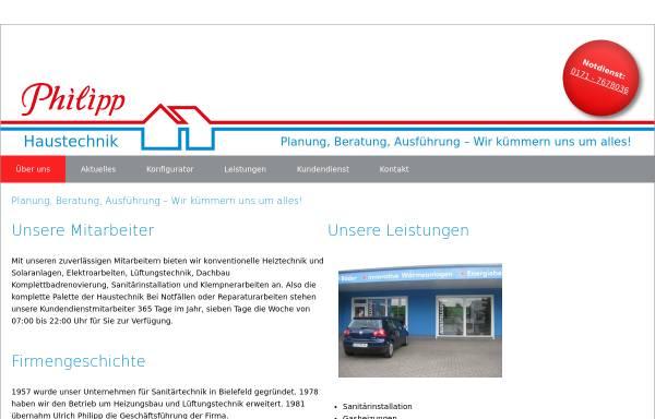 Vorschau von www.philipp-haustechnik.de, Philipp GmbH & Co KG