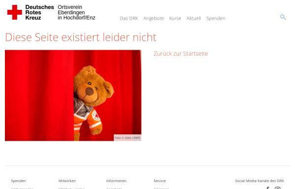 Vorschau von ov-eberdingen.drk.de, DRK-Ortsverein Eberdingen