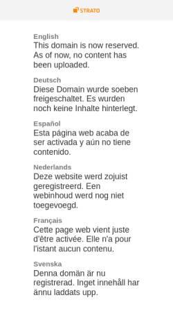 Vorschau der mobilen Webseite www.shorthorn-osterbruch.de, Shorthorns vom Osterbruch
