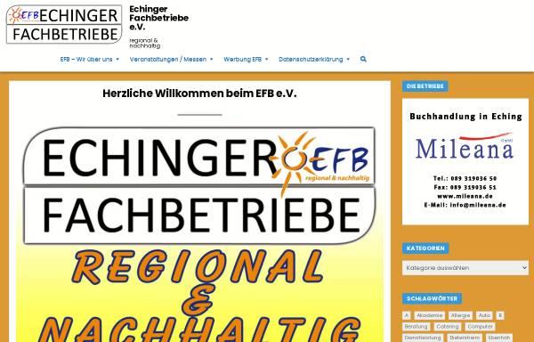 Vorschau von www.echinger-fachbetriebe.de, Echinger-Fachbetriebe e.V.