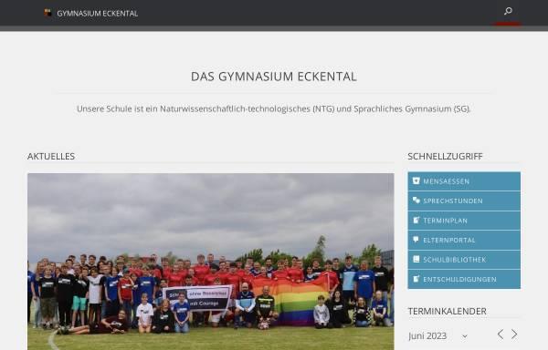 Vorschau von gymnasium-eckental.de, Gymnasium Eckental
