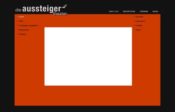 Vorschau von www.dieaussteiger.de, Theatergruppe 'Die Aussteiger'