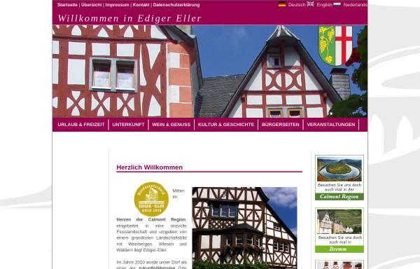 Vorschau von www.ediger-eller.de, Ediger-Eller