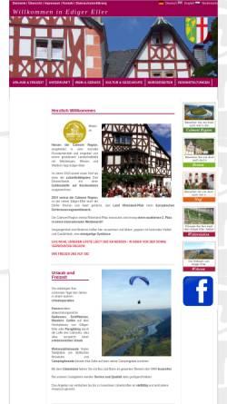 Vorschau der mobilen Webseite www.ediger-eller.de, Ediger-Eller