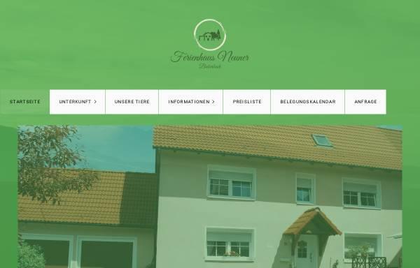 Vorschau von www.ferienhausneuner-franken.de, Ferienhaus Neuner