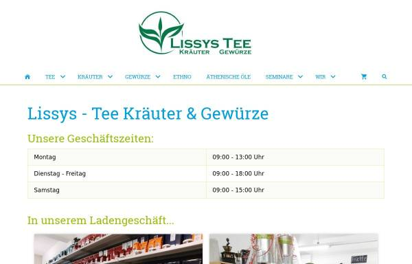 Vorschau von www.lissys-shop.de, Lissys-Shop Jürgen Liskowskis