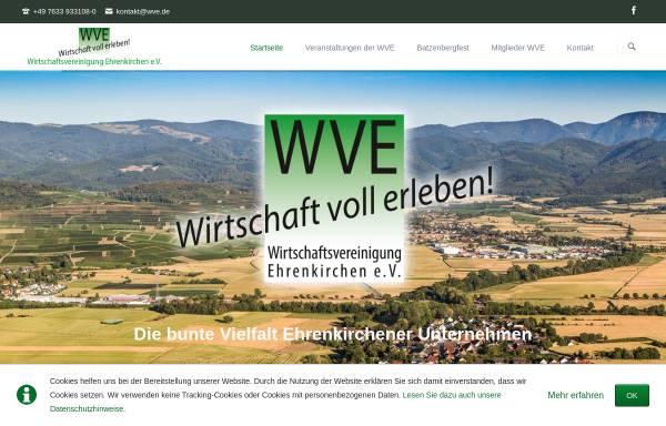 Vorschau von wve.de, Wirtschaftsvereinigung Ehrenkirchen e.V.