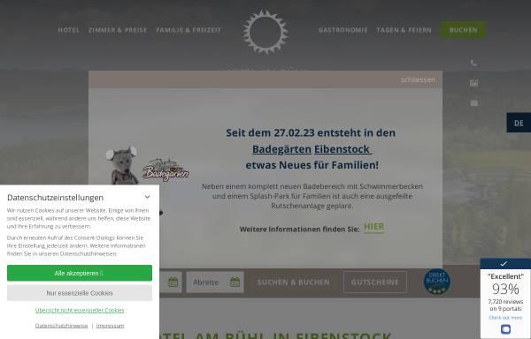 Vorschau von www.hotel-blaues-wunder.de, Hotel am Bühl - Das blaue Wunder