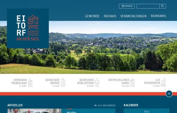 Vorschau von www.eitorf.de, Eitorf