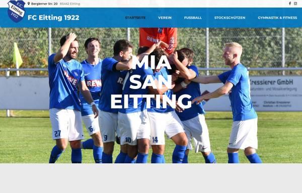 Vorschau von www.fceitting.de, FC Sportfreunde Eitting e. V.