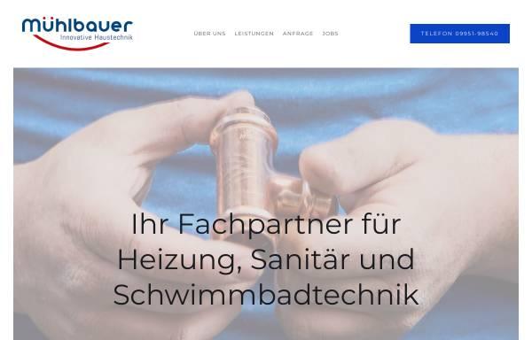 Vorschau von www.muehlbauer-haustechnik.de, Josef Mühlbauer GmbH