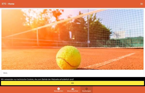 Vorschau von www.etc-ellerau.de, Ellerauer Tennis Club an der Krumbek e.V.