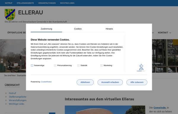Vorschau von www.ellerau.de, Ellerau