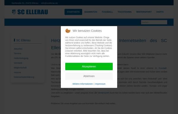 Vorschau von www.scellerau.de, SC Ellerau von 1946 e.V.