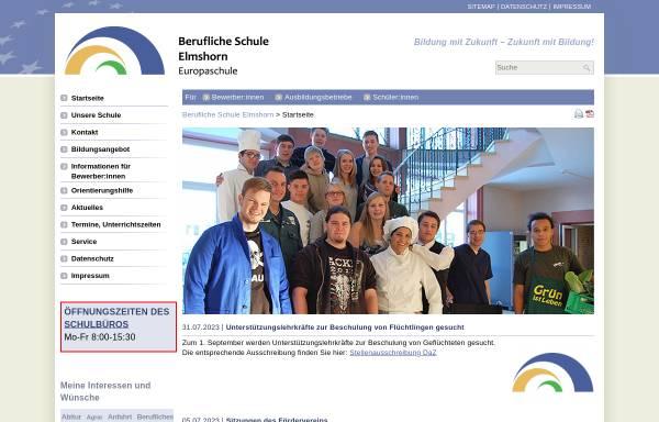 Vorschau von www.bs-elmshorn.de, Berufliche Schulen Elmshorn