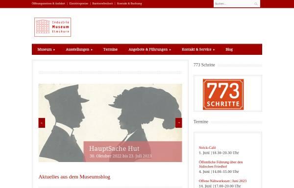 Vorschau von www.industriemuseum-elmshorn.de, Industriemuseum Elmshorn