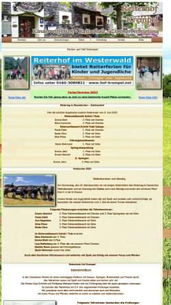 Vorschau der mobilen Webseite www.hof-krempel.net, Hof Krempel