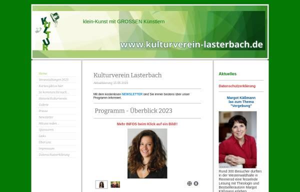 Vorschau von www.kulturverein-lasterbach.de, Kulturverein Lasterbach