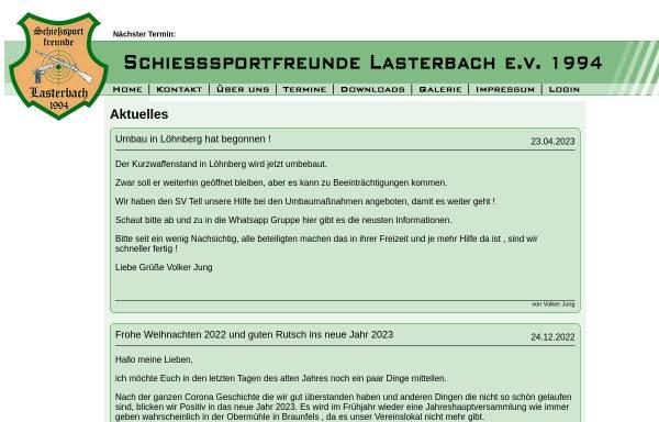 Vorschau von schiesssportfreunde.de, Schießsportfreunde Lasterbach 1994 e.V.
