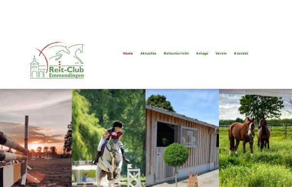Vorschau von www.reitclub-emmendingen.de, Reit-Club Emmendingen