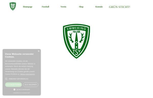 Vorschau von www.tsv-emmering.de, TSV Emmering e.V.