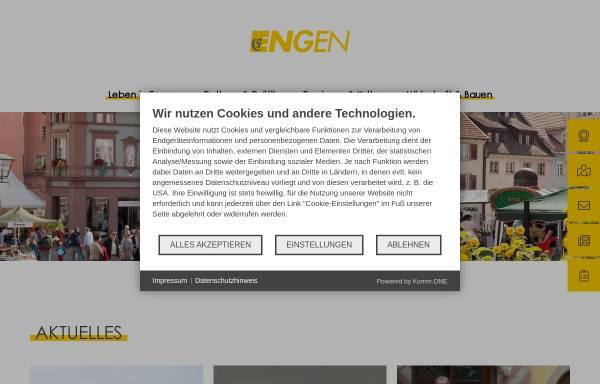 Vorschau von www.engen.de, Engen