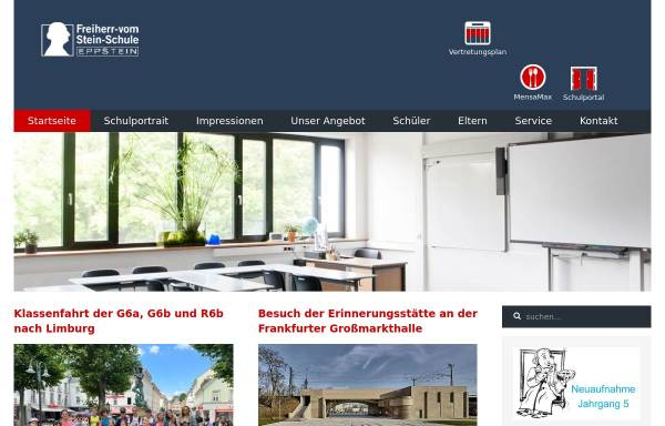 Vorschau von www.fvss-eppstein.de, Freiherr-vom-Stein-Schule Eppstein