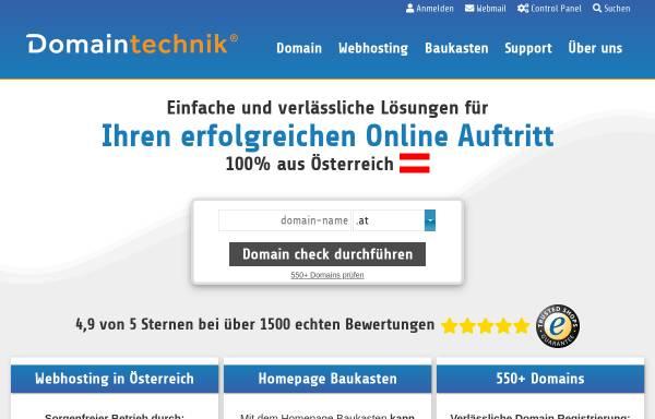 Vorschau von www.domaintechnik.at, Domaintechnik.at, Ledl.net GmbH