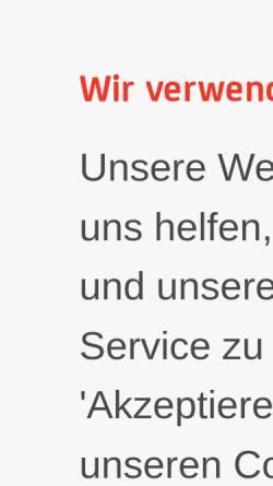 Vorschau der mobilen Webseite www.server4you.de, Server4you.de, BSB Service GmbH