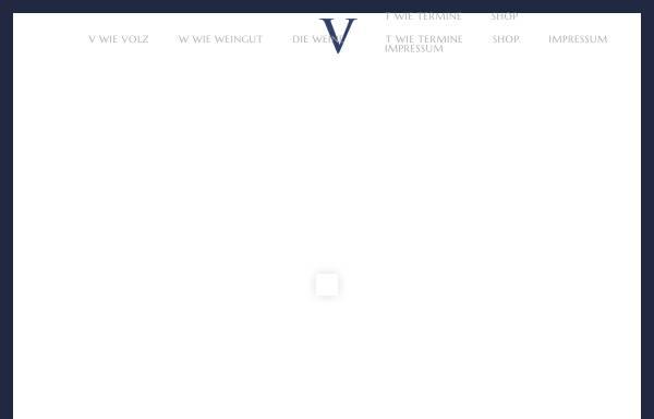 Vorschau von www.weingut-volz.de, Weingut Eugen Volz & Sohn