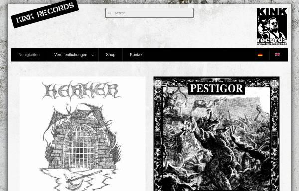 Vorschau von www.kink-records.de, Punk, Chaos und Anarchie