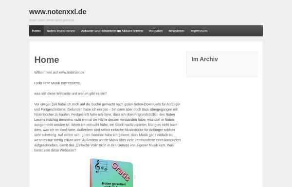 Vorschau von www.notenxxl.de, Andreas Günther