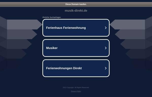 Vorschau von www.musik-direkt.de, Peter Sass und Peter Nohr GbR