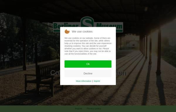 Vorschau von www.s-bahn-museum.de, Berliner S-Bahn-Museum