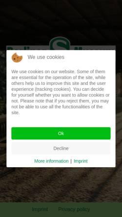 Vorschau der mobilen Webseite www.s-bahn-museum.de, Berliner S-Bahn-Museum