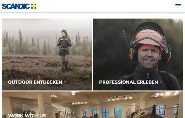 Vorschau von www.scandic.de, Scandic Outdoor GmbH, D-21220 Seevetal