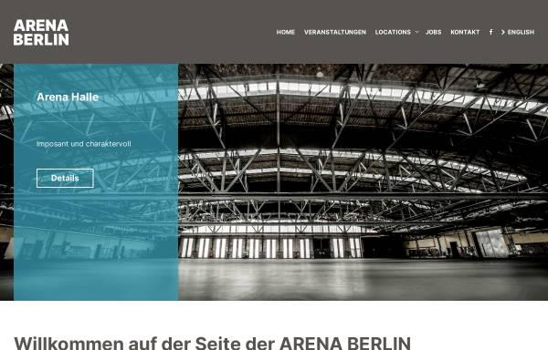 Vorschau von www.arena.berlin, Arena