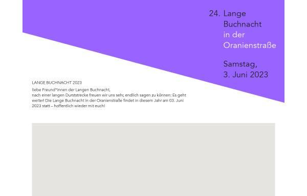 Vorschau von www.lange-buchnacht.de, Lange Buchnacht