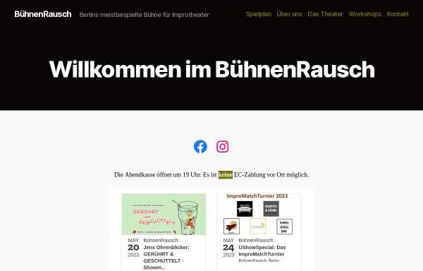Vorschau von www.buehnenrausch.de, BühnenRausch