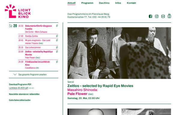 Vorschau von www.lichtblick-kino.org, Stattkino e.V. - Lichtblick-Kino und Nickelodeon
