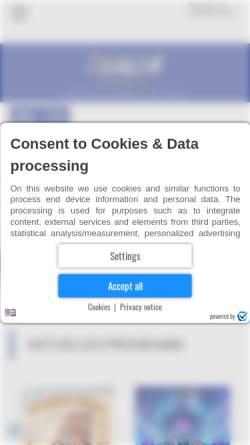 Vorschau der mobilen Webseite www.thalia-berlin.de, Thalia Moviemagic