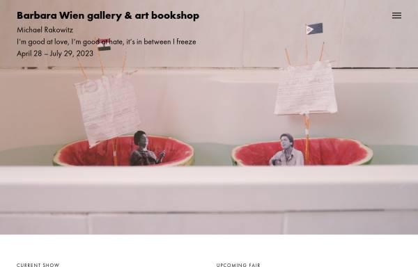 Vorschau von www.barbarawien.de, Barbara Wien - Buchhandlung und Galerie