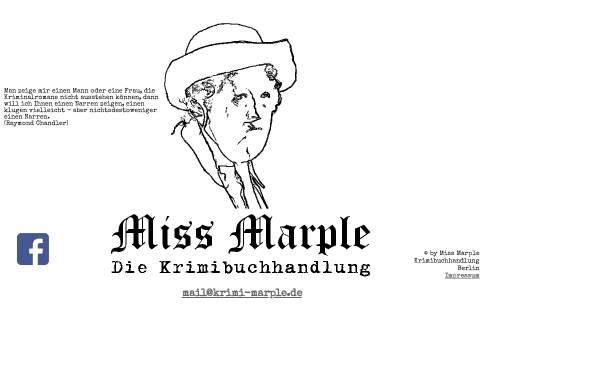 Vorschau von www.krimi-marple.de, Krimibuchhandlung Miss Marple